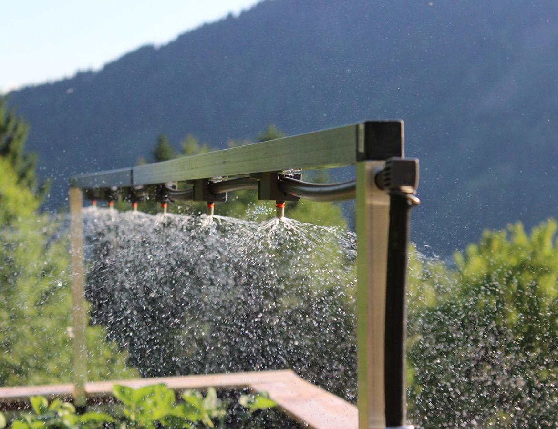 Bewässerungs Anlage für Hochbeete