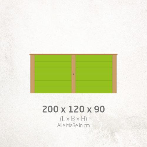 Hochbeet_200x120x90cm