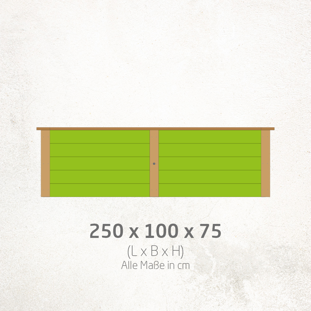 Hochbeet_250x100x75cm