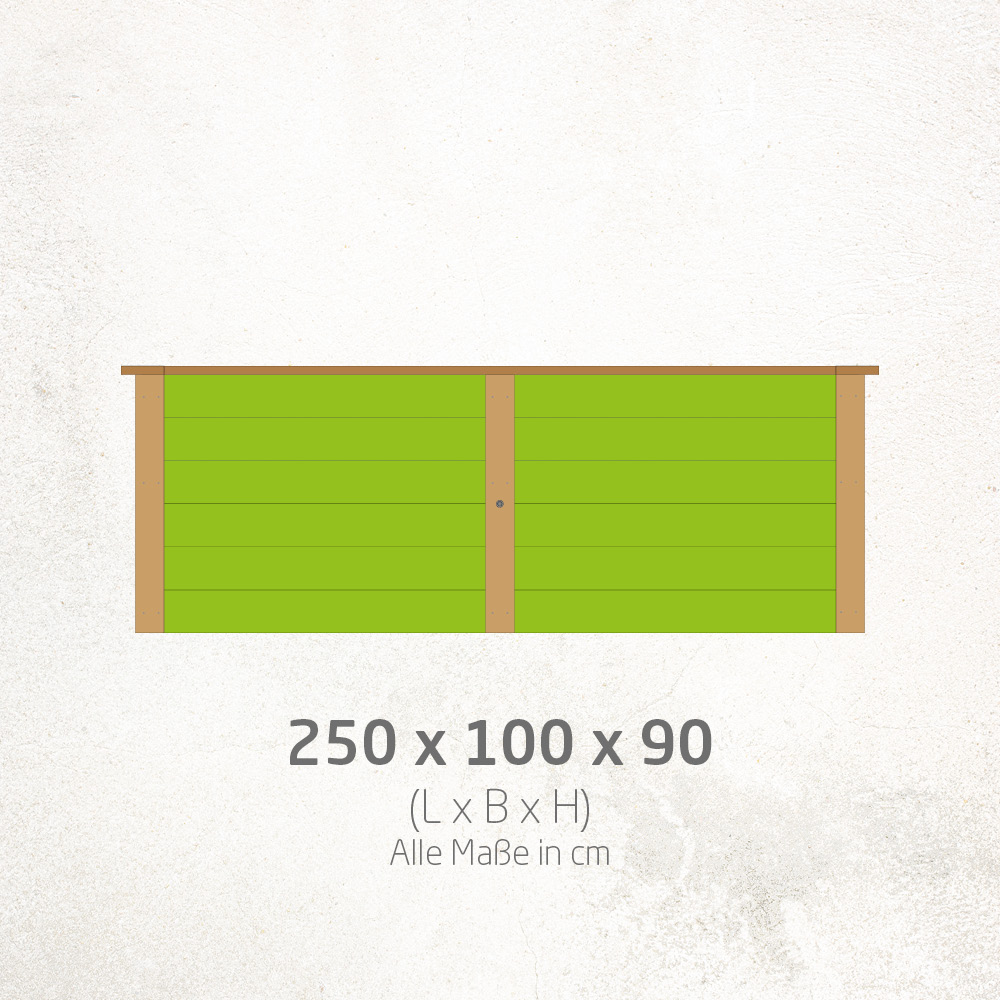 Hochbeet_250x100x90cm