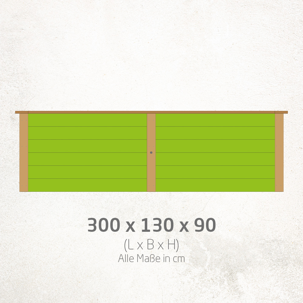 Hochbeet_300x130x90cm