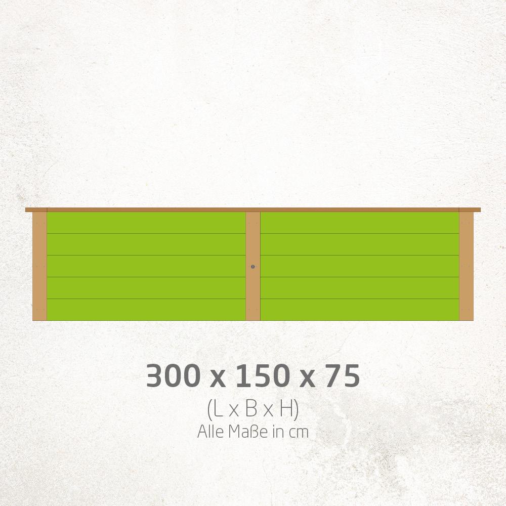 Hochbeet_300x150x75cm