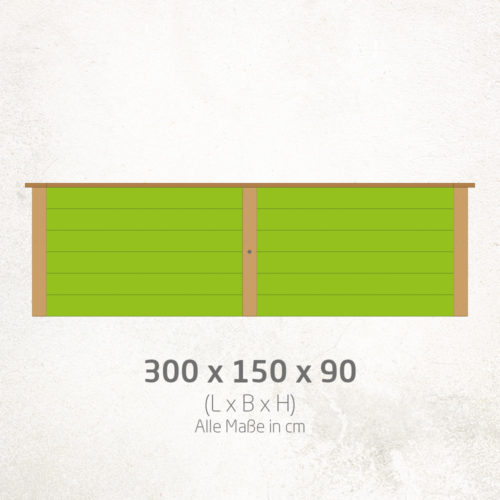 Hochbeet_300x150x90cm