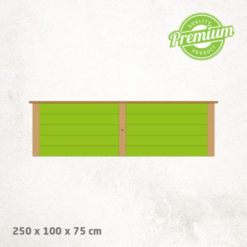 Hochbeet_Lärche_Premium_250x100x75cm
