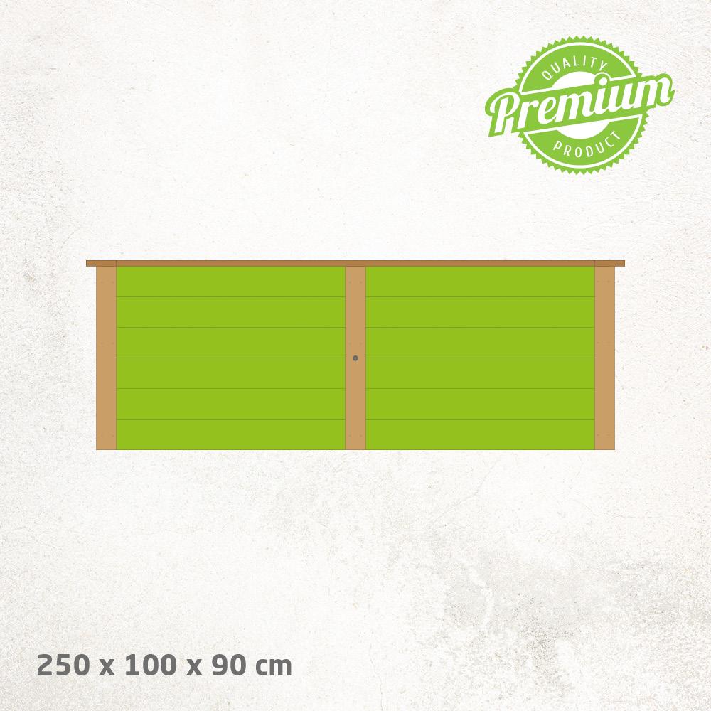 Hochbeet_Lärche_Premium_250x100x90cm
