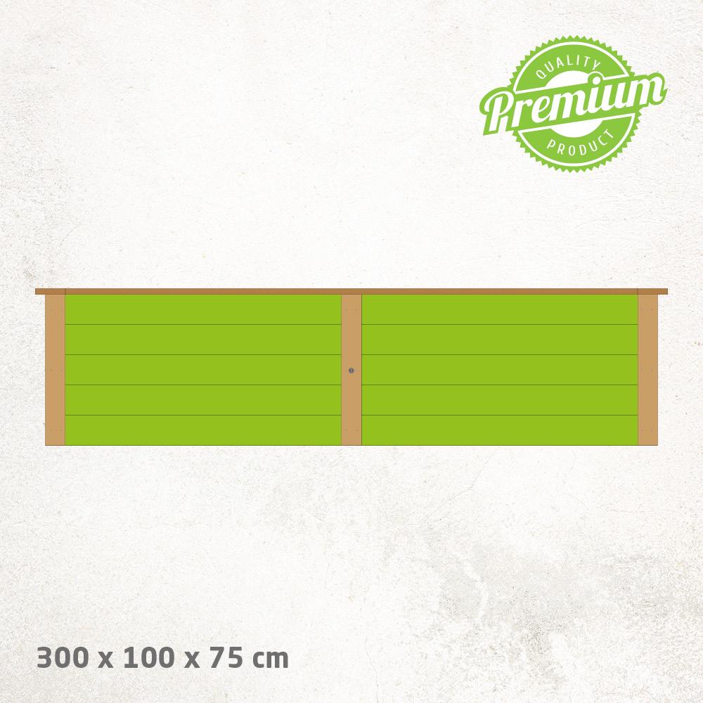 Hochbeet_Lärche_Premium_300x100x75cm