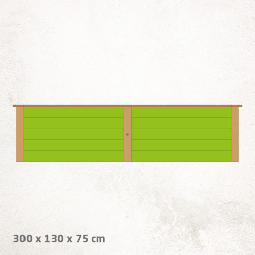 Hochbeet_Lärche_Standard_300x130x75cm